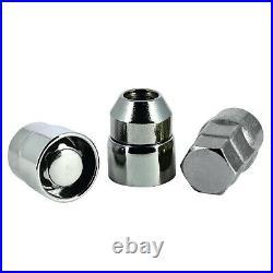 Butzi 12x1.50 Chrome Anti Theft Locking Wheel Bolt Nuts & 2 Keys for Mazda CX-5