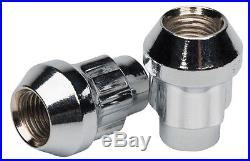 Butzi (12x1.50) Chrome Anti Theft Locking Wheel Bolt Nuts & 2 Keys for Volvo C30