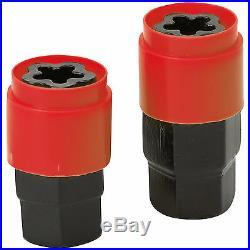 Butzi 12x1.50 L26 Anti Theft Locking Wheel Nut Bolts & 2 Keys Set for Saab 9-3