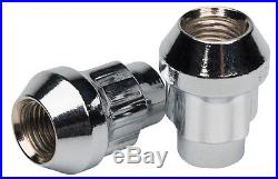 Butzi 12x1.5 Chrome Anti Theft Locking Wheel Bolt Nuts & 2 Keys for Hyundai ix35