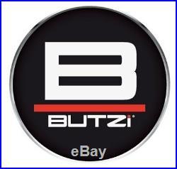 Butzi 12x1.5 Chrome Anti Theft Locking Wheel Bolt Nuts & 2 Keys for Toyota Prius