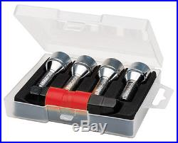 Butzi Anti Theft Locking Wheel Nut Bolts & 2 Keys for Citroën C4 Grand Picasso