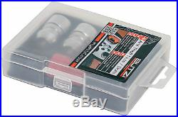 Butzi Chrome Anti Theft Locking Wheel Bolt Nuts & 2 Key for Land Rover Discovery