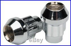 Butzi Chrome Anti Theft Locking Wheel Bolt Nuts & 2 Keys for Toyota Landcruiser