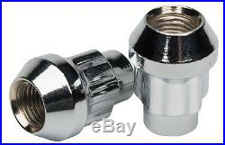 Butzi Chrome Anti Theft Locking Wheel Bolt Nuts & 2 Keys to fit Toyota Previa