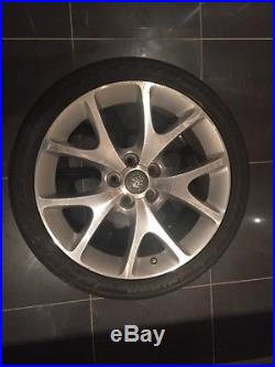 Corsa genuine 18 VXR Alloy Wheel Set Brand New Nuts, Locking Nuts And Covers