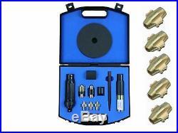 DYNOMEC Locking Wheel Nut Removal Tool KIT Set used AA / RAC + 5 EXTRA BLADE C