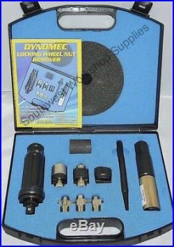 DYNOMEC Locking Wheel Nut Remover Set Kit Used by the AA and RAC. LATEST KIT Uk