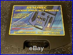 DYNOMEC Locking Wheel Nut Remover Set as used by the AA and RAC. LATEST KIT