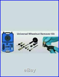 DYNOMEC Locking Wheel Nut Remover Set as used by the AA and RAC. LATEST KIT CH