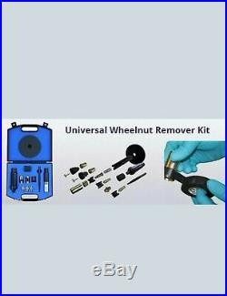 DYNOMEC Locking Wheel Nut Remover Set as used by the AA and RAC. LATEST KITk