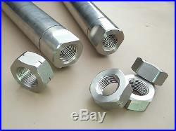 Defender Stainless Steel Track Rod Bar Heavy Duty + Track Rod Ends SUMOBARS