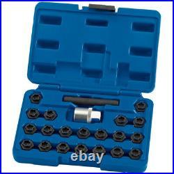 Draper Expert 22 Piece BMW Locking Wheel Nut Key Set 15127