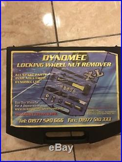 Dynomec XL Locking Wheel Nut Removal Kit Inc Jaguar And Range Rover