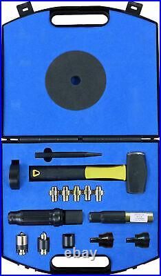 Dynomec XL Universal Locking Wheel Nut Removal Kit Rounded Bolts Garage Tool Set