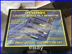 Dynomec locking wheel nut remover XL As Used By The AA & RAC Includes Rr & Jag