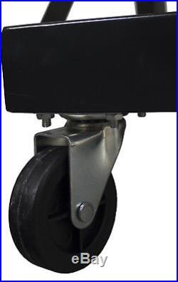 Erie Tools 60 Bin Parts Storage Rack with Locking Wheels Shop Garage Nut Bolt