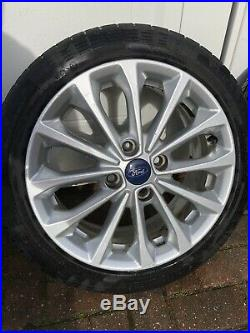 FORD FIESTA ZETEC S ALLOY WHEELS 16 INCH 4 STUD. With Locking Nuts