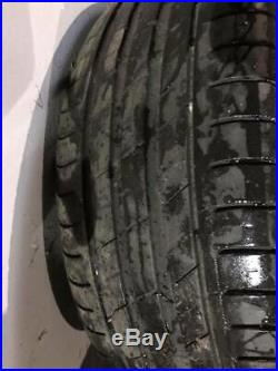 FORD FOCUS MK3 17 INCH ALLOY WHEELS AND TYRES, x 4 + lock nuts 2012 2013 2014