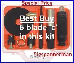 FRANKLIN TOOLS AFT26 Locking Wheel Nut Removal Tool Set inc 5 blade AFT014 deal