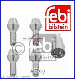 Febi Wheel Nut Bolt Locking Stud Key Set BMW 3 E36 E46 E90 5 E39 E60 7 E38 X5 X1