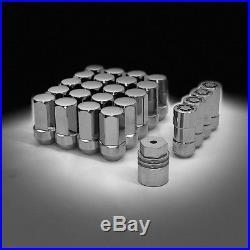 For Escalade Silverado Sierra Tahoe Yukon GM Wheel Lock Nut Package 17801711