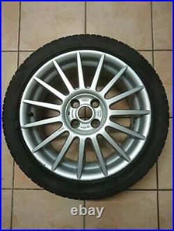Ford 4x ST170 Alloy Wheels + Caps + Locking Nuts