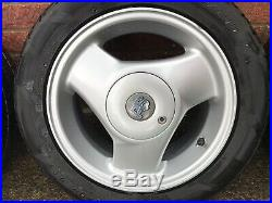 Ford Fiesta 14 RS Option Ronal Alloy Wheels Locking Nuts With Receipts 3 Spoke