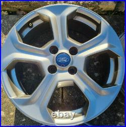 Ford Fiesta ST MK7 4 x original alloy wheels 17 including wheel locking nuts