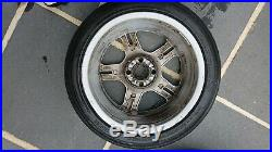 Ford Fiesta Zetec S 16 Alloy wheels. Set of 4 with Tyres, Nuts and Locking Nuts