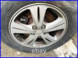Ford Galaxy Smax Alloy Wheels and Tyres 215 60 16 x 4 with nuts lock wheel nuts