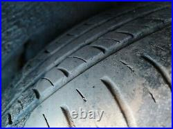 Ford Galaxy Smax Alloy Wheels and Tyres 215 60 16 x 4 with tyres lock wheel nuts