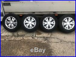 Ford Ranger 18 WILDTRAK Alloy Wheels & Tyres 265/60 18 Set Of 4 + nuts & locks