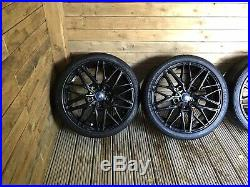 Ford Transit Custom 20 Alloys Wheels Tyres With Locking Nuts