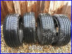Ford fiesta st alloy wheels 17 + locking wheel nuts