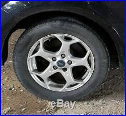 Ford mondeo mk4 ALLOY WHEELS 16 x 4 with good tyres + space saver locking nuts