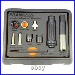 Franklin AFT26 Locking Wheel Nut Remover Kit Plus Impact Driver TBT0026