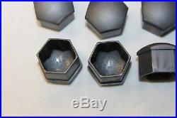 GENUINE 17mm AUDI A2 A3 A4 A5 A6 Q5 A8 WHEEL NUT BOLT COVERS LOCKING CAPS x20 u