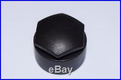 GENUINE AUDI A2 A3 A4 A5 A6 A7 Q5 WHEEL NUT BOLT COVERS LOCKING CAPS x20 BLACK