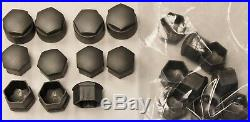 GENUINE AUDI A2 A3 A4 A5 A6 Q5 WHEEL NUT BOLT COVERS LOCKING CAPS used x20