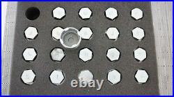 GENUINE Jaguar Land Rover 20pc Locking Wheel Nut Master Key Set JLR 204 839