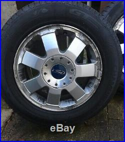 GENUINE OEM FORD Came Off My 2012 Connect. Good Tyres Wheel Nuts & Locks