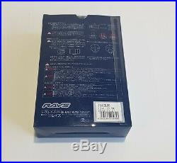 GENUINE Rays 19HEX wheel nut & lock M12 x 1.25 IN-STOCK Nissan Skyline R35 GTR