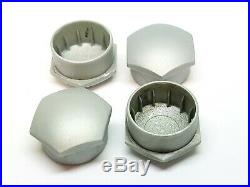 GENUINE VOLVO LOCKING WHEEL NUT BOLT COVERS CAPS GREY 3165003 x4