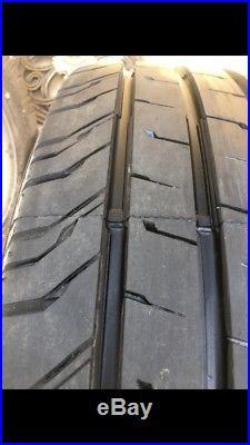GENUINE VW Transporter T6/T32 17 Davenport Alloy Wheels/Tyres /Locking Nuts
