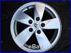 Genuine 16 Renault Scenic/grand Scenic Alloy Wheels & Tyres & Free Locking Nuts