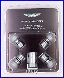 Genuine Aston Martin Locking Wheel Nut Set PN 4G43-17A147-AA