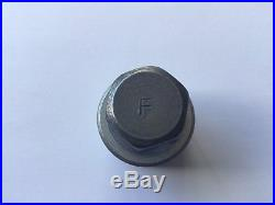 Genuine Audi Locking Wheel Bolt / Nut Key 826. Stamped F From 2010 Onwards