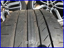 Genuine Audi S3 8v 18 Inch Alloy Wheels Continental Tyres And Locking Nuts A3