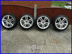 Genuine Audi Tt 18 Inch Alloy Wheels With Tyres Nuts /locking Nuts